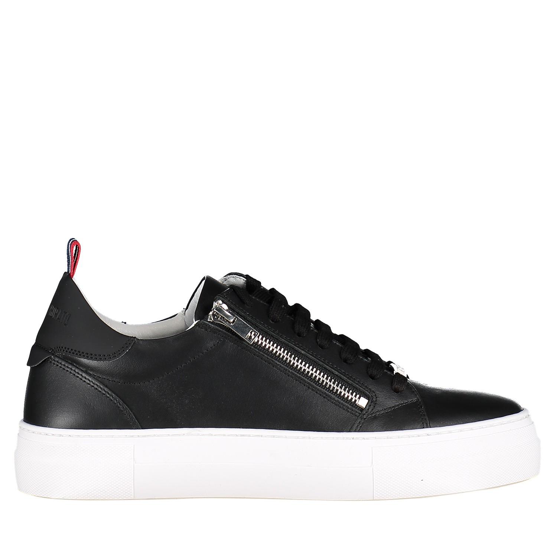 Afbeelding van Antony Morato MMFW01124 heren sneakers zwart