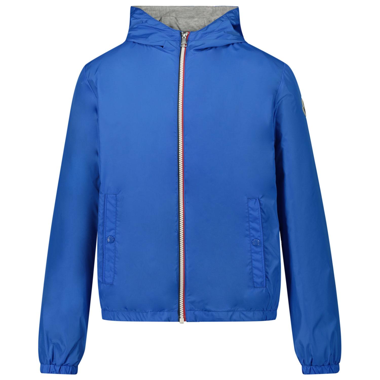 Afbeelding van Moncler 1A72220 kinderjas cobalt blauw