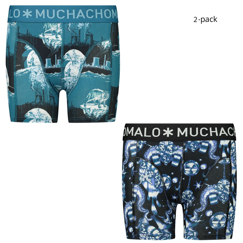 Afbeelding van Muchachomalo CLMTC1010 kinderondergoed petrol/navy