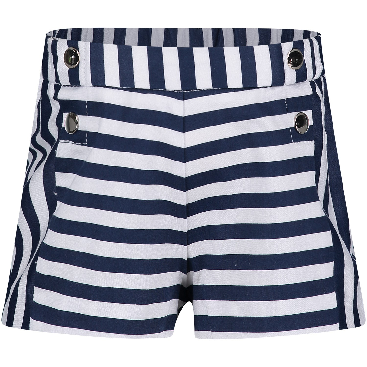 Picture of Mayoral 1223 baby shorts navy
