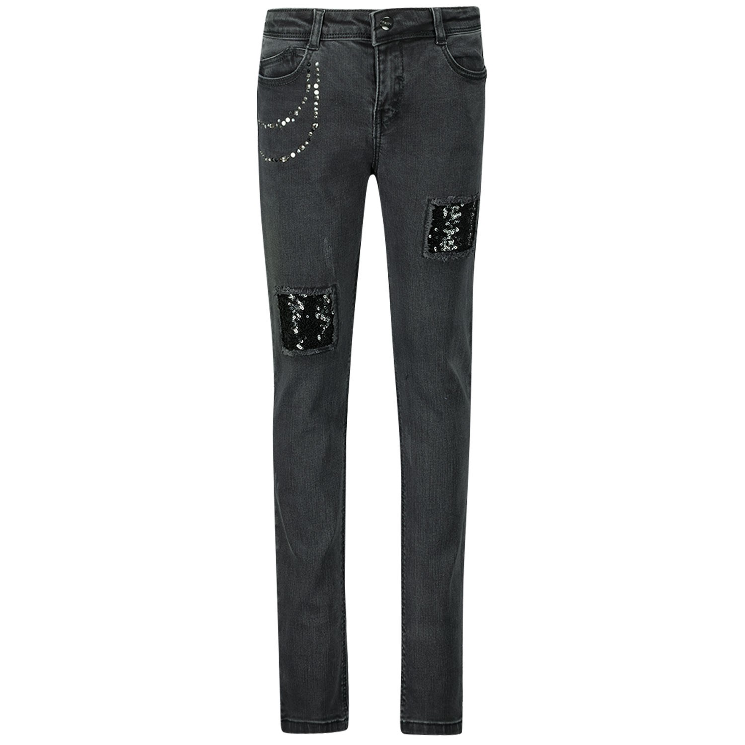 Picture of Mayoral 4502 kids jeans black