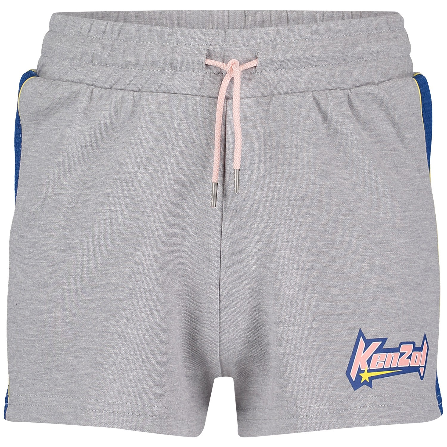Picture of Kenzo KN26068 kids shorts light gray
