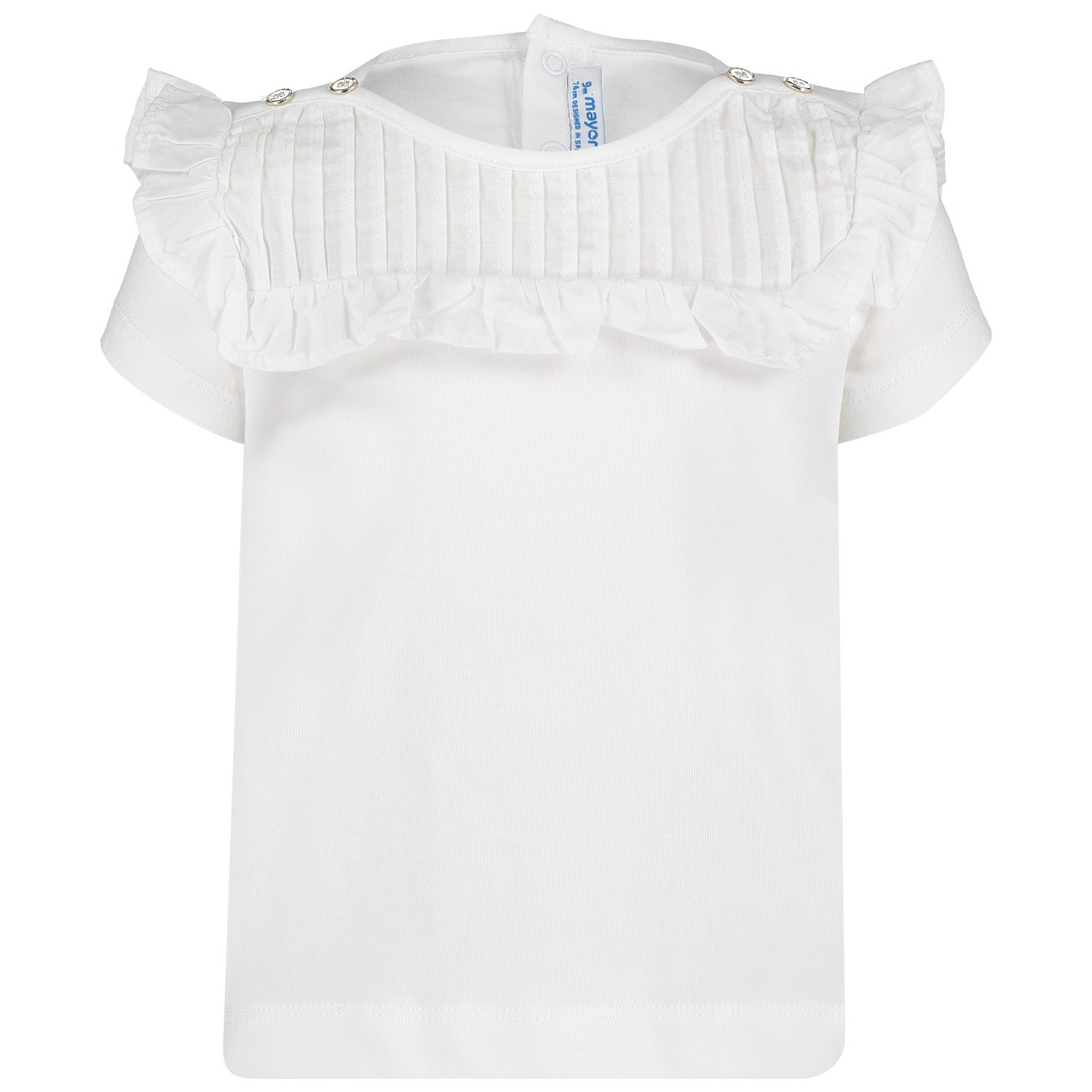 Picture of Mayoral 1013 baby shirt white