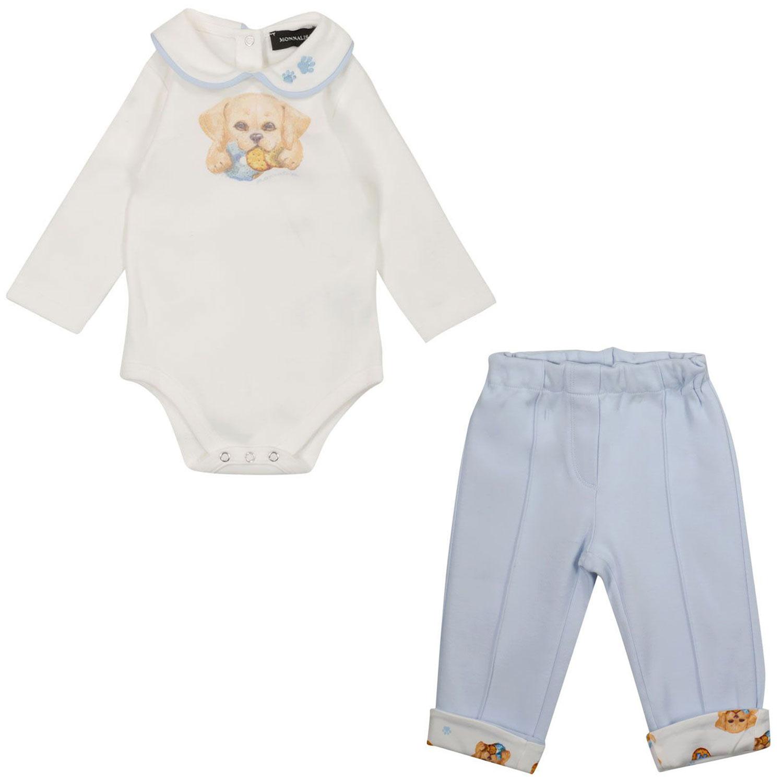 Afbeelding van MonnaLisa 228500 babysetje off white