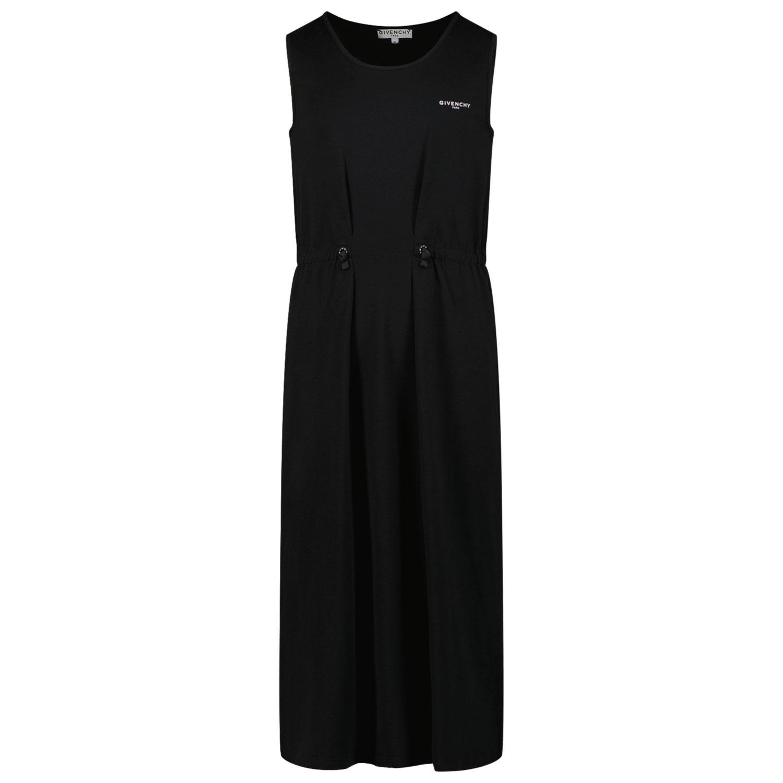 Afbeelding van Givenchy H12151 kinderjurk zwart