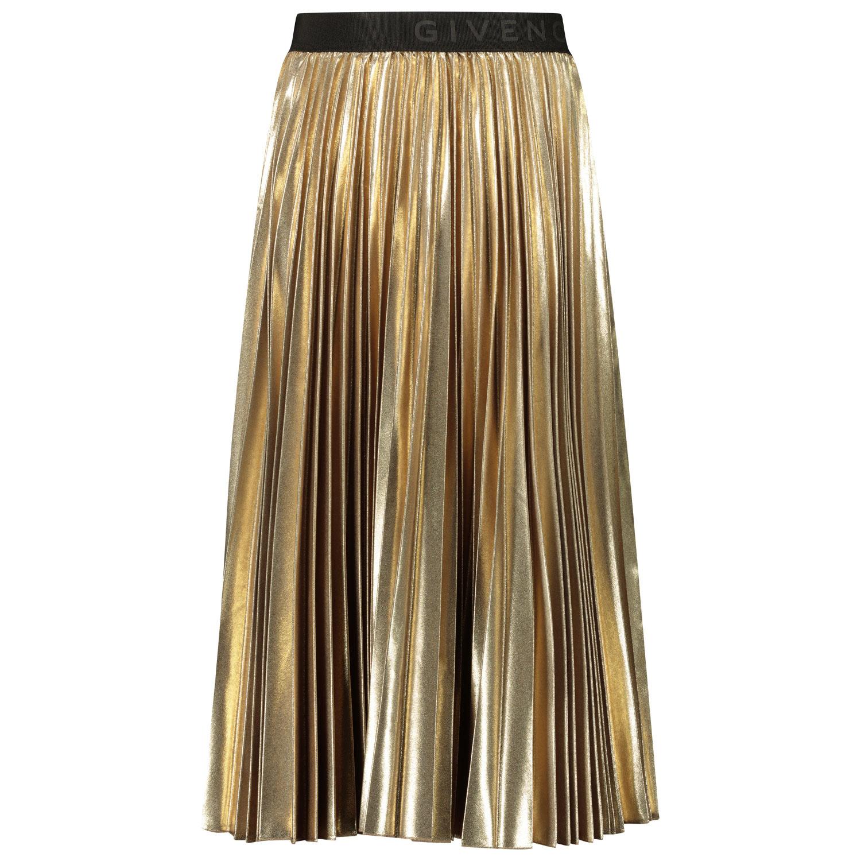 Afbeelding van Givenchy H13036 kinderrokje goud