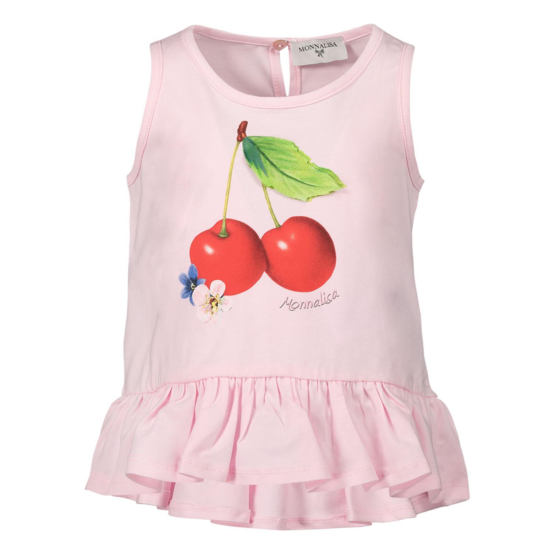 Afbeelding van MonnaLisa 315629P7 baby tuniekje licht roze