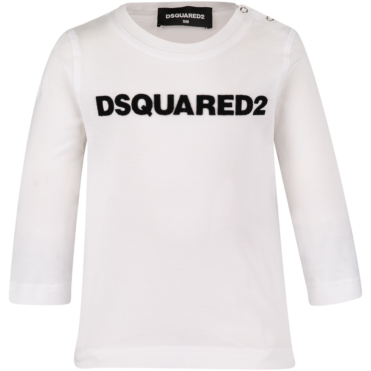 Afbeelding van Dsquared2 DQ02ZQ baby t-shirt wit