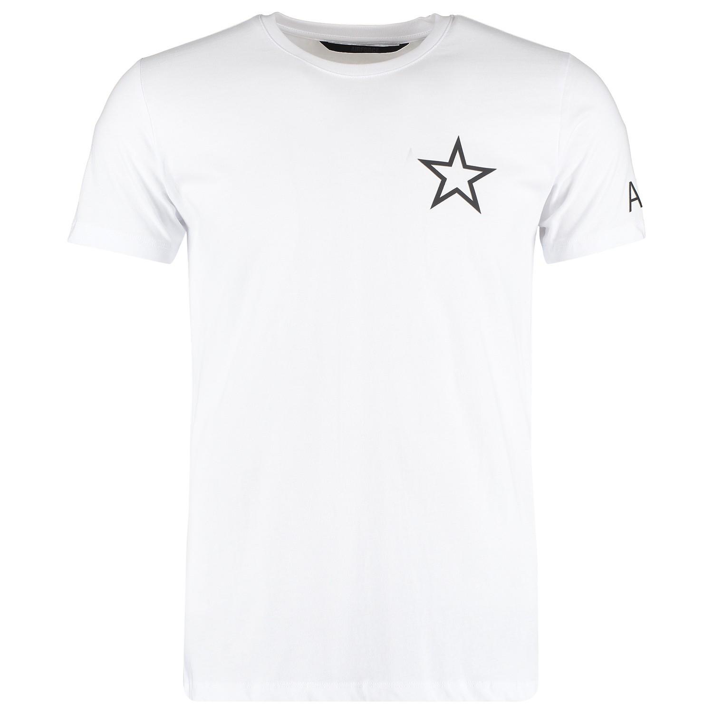 Afbeelding van Airforce M0511 heren t shirt wit