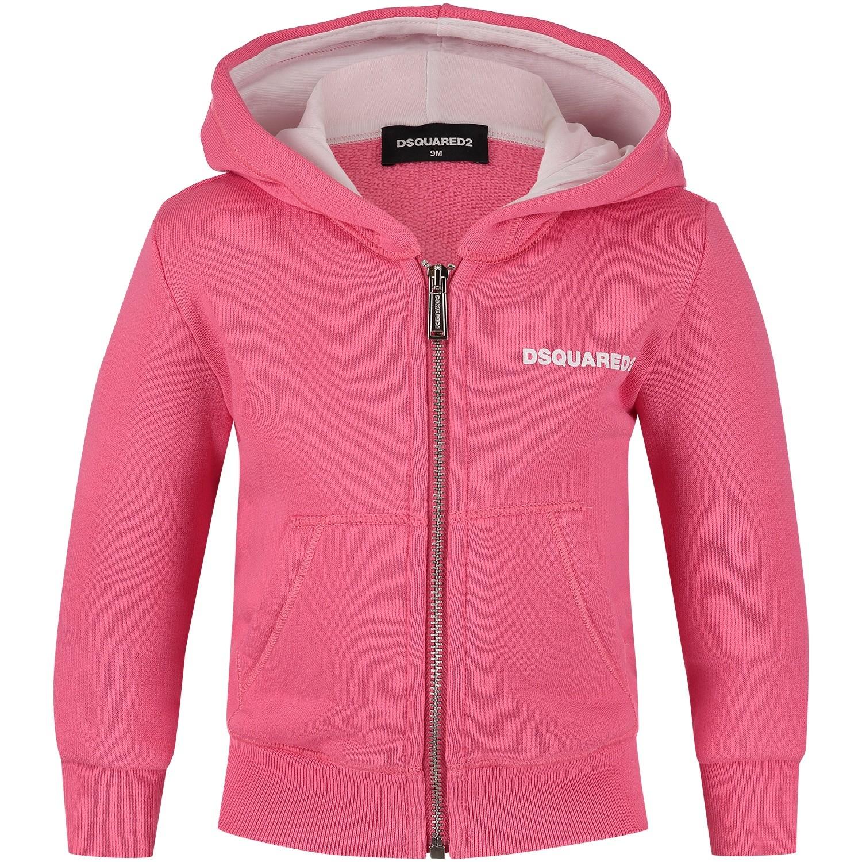 Afbeelding van Dsquared2 DQ034N baby vest roze