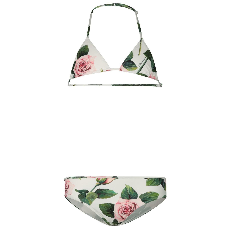 Afbeelding van Dolce & Gabbana L5J815 / FSGR0 kinder zwemkleding wit
