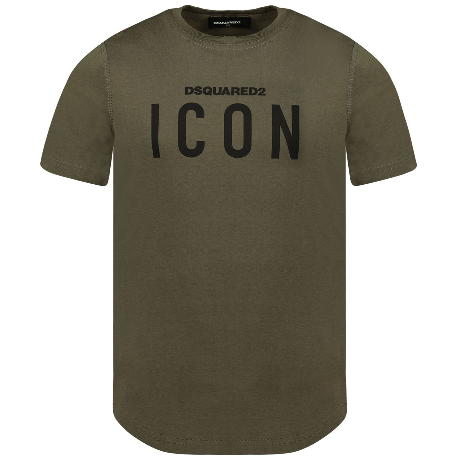 Afbeelding van Dsquared2 DQ02M8 kinder t-shirt army