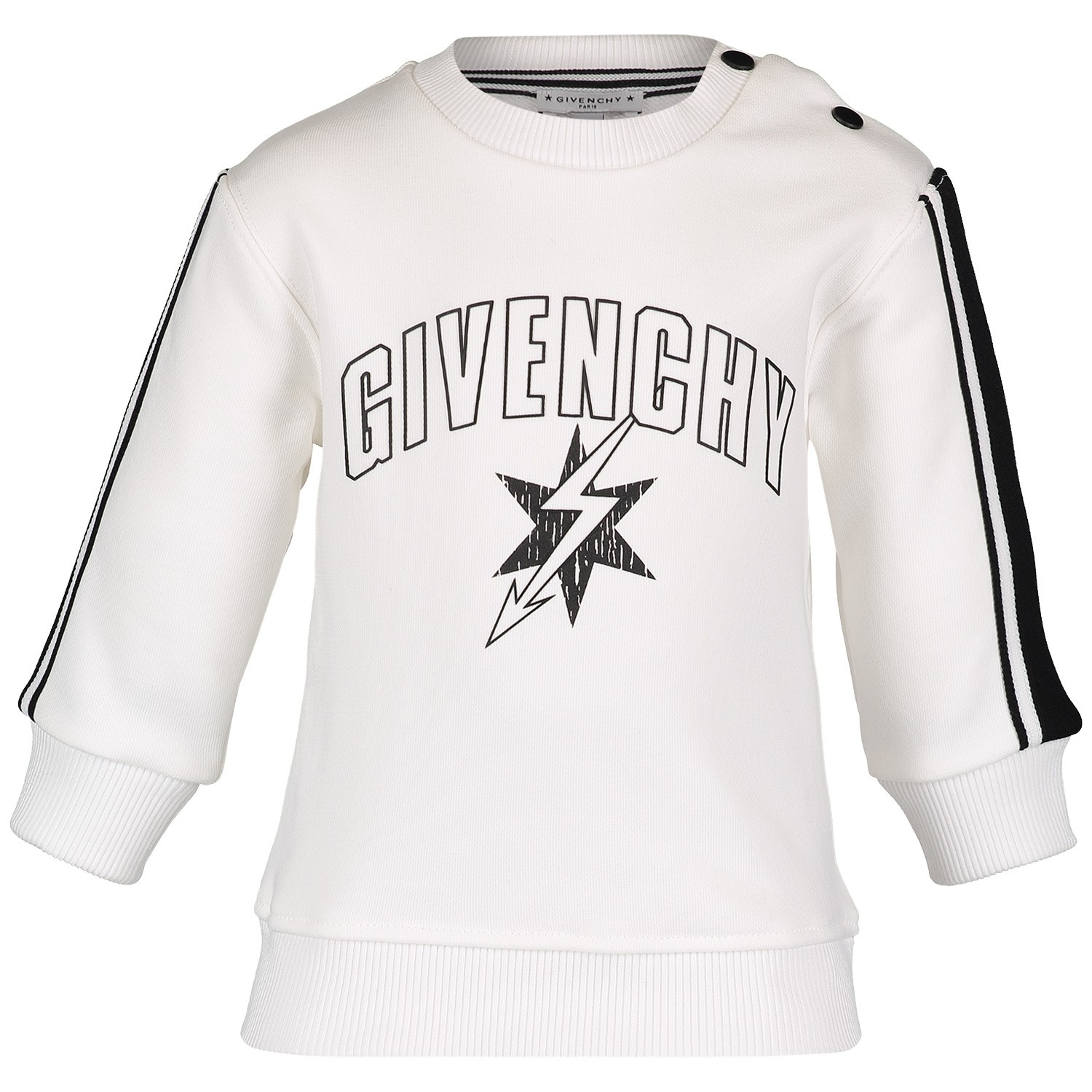 Afbeelding van Givenchy H05071 baby trui wit