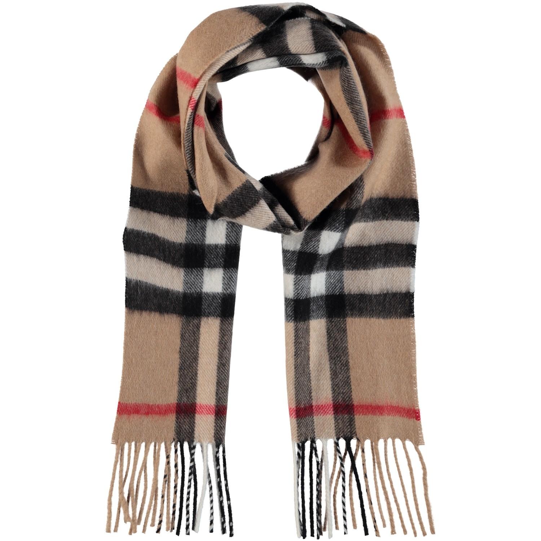 Afbeelding van Burberry 3929524 kinder sjaal beige