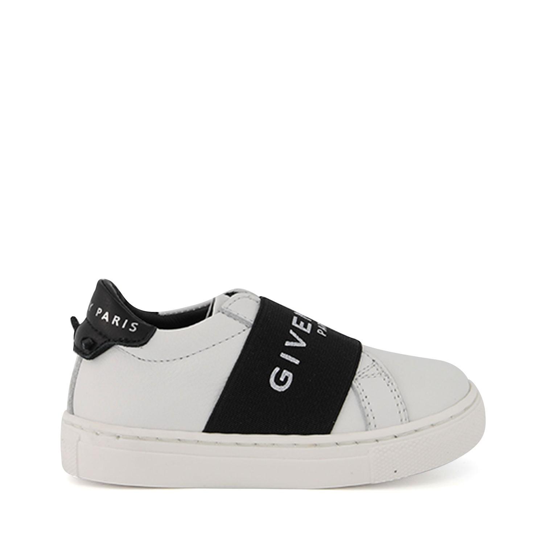 Afbeelding van Givenchy H09008 kindersneakers wit