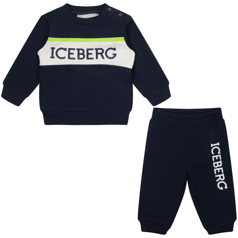 Afbeelding van Iceberg CFICE2300 baby joggingpak navy