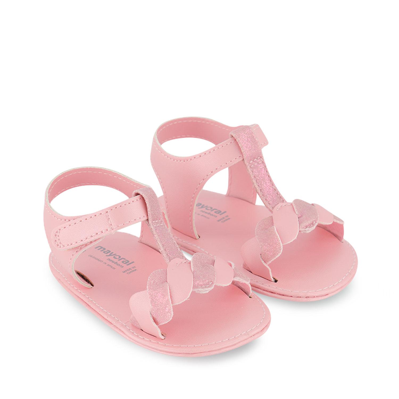 Afbeelding van Mayoral 9406 baby sandalen licht roze