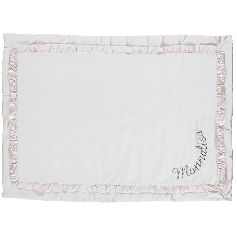 Afbeelding van MonnaLisa 732011 baby deken licht roze