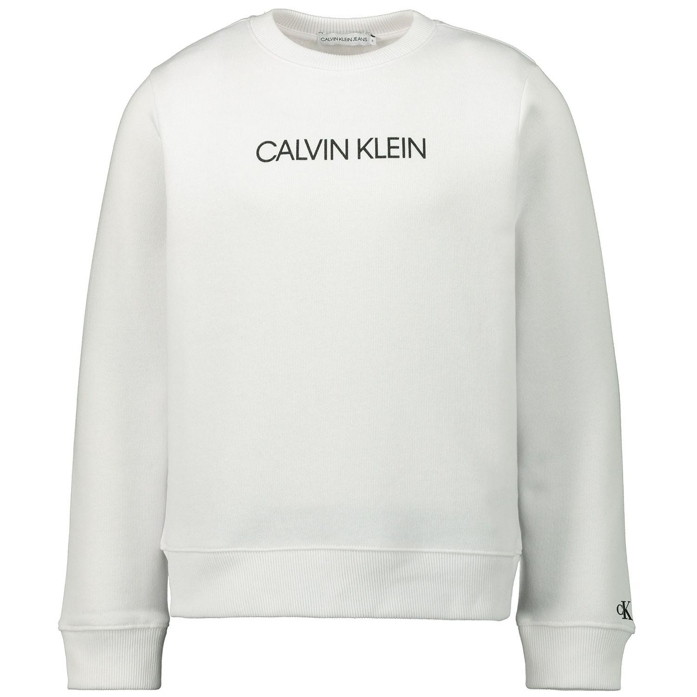 Afbeelding van Calvin Klein IU0IU00040 kindertrui wit