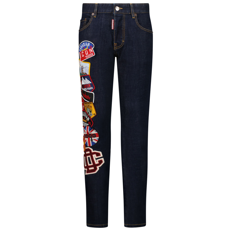 Afbeelding van Dsquared2 DQ042L D006L kinderbroek jeans
