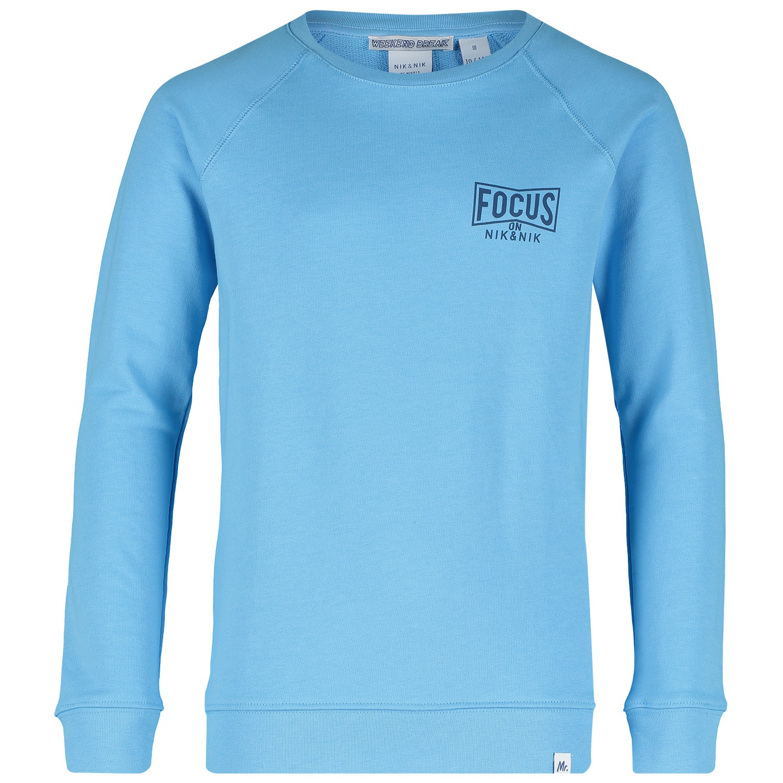 Picture of NIK&NIK B8806 kids sweater light blue