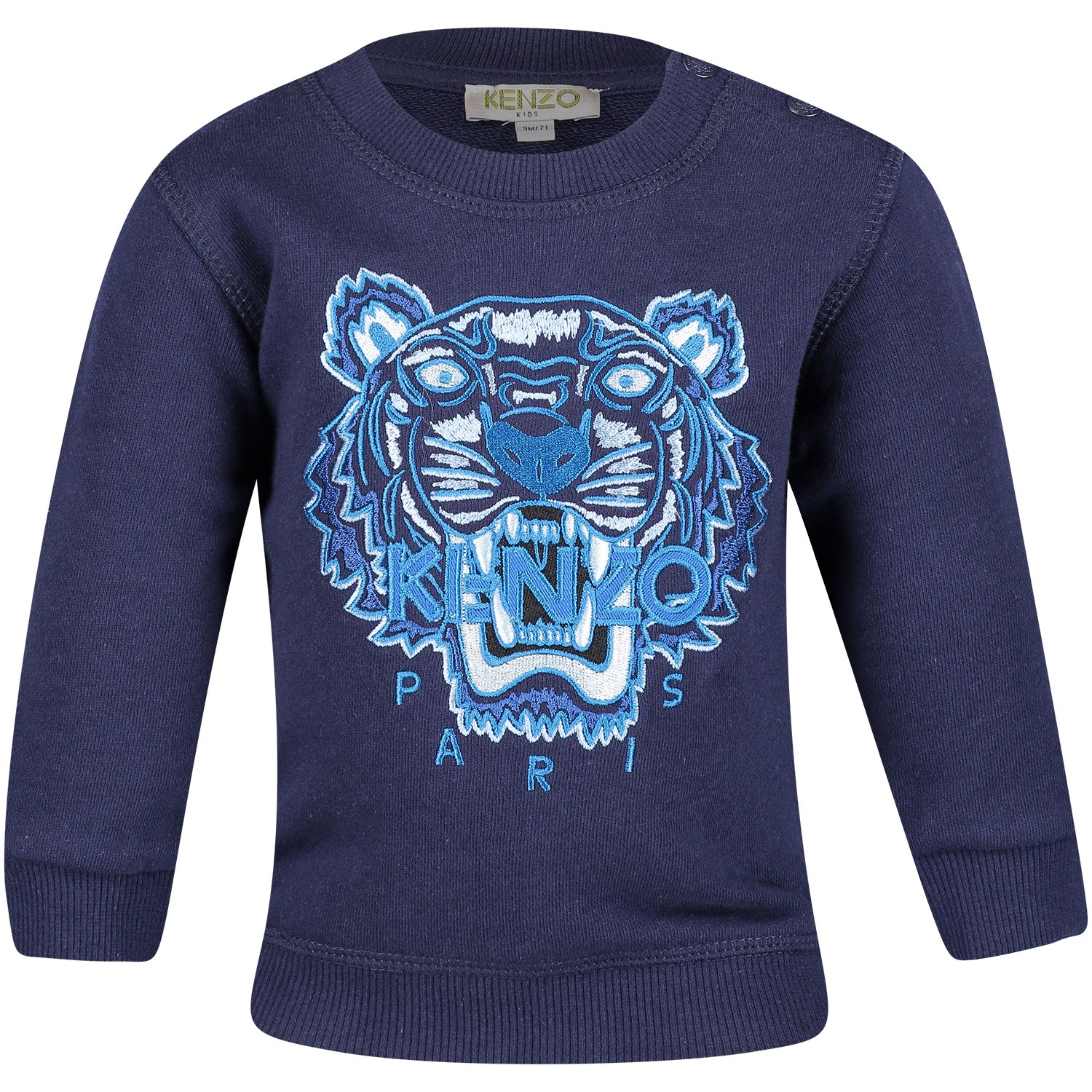 Picture of Kenzo KN15698BB baby sweater navy