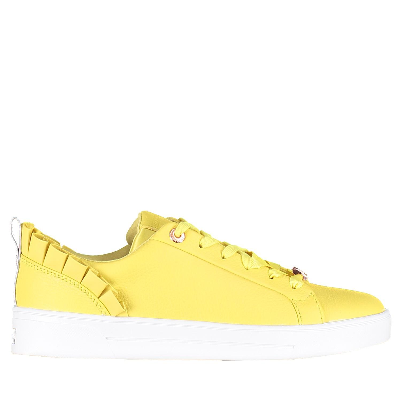 Afbeelding van Ted Baker 918201 dames sneakers geel