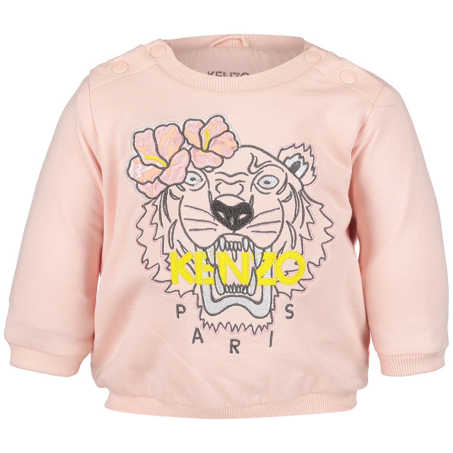 Picture of Kenzo KN15003 baby sweater light pink