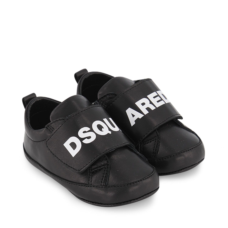 Afbeelding van Dsquared2 68501 babysneakers zwart