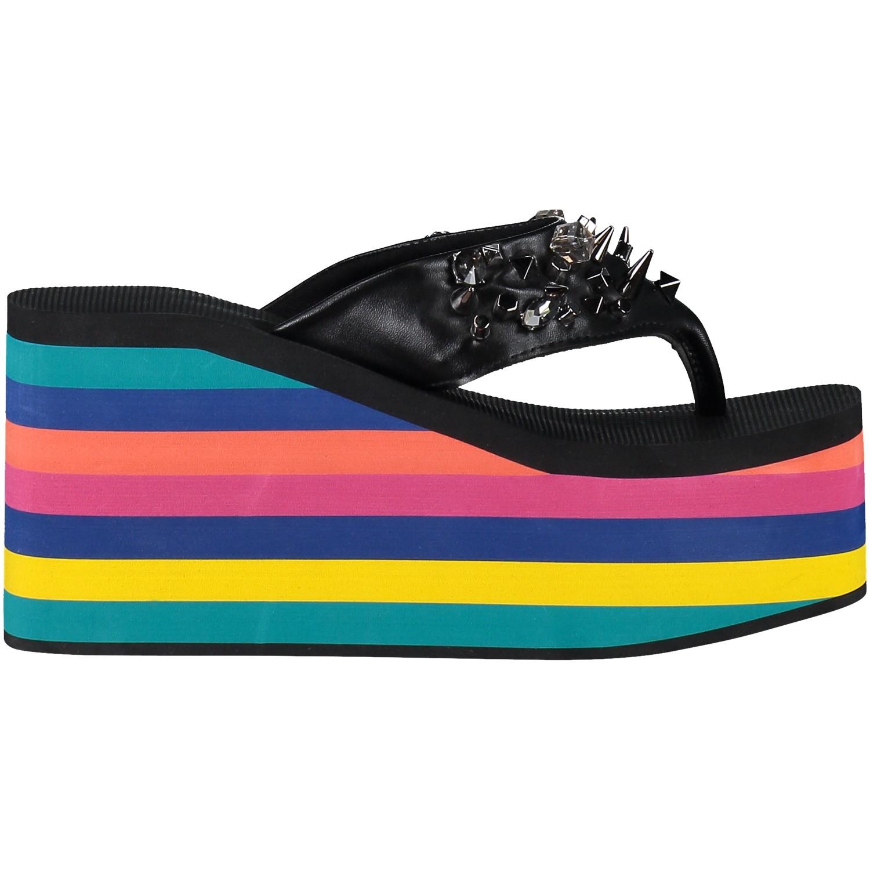 Afbeelding van Uzurii SANDAL ORIGINAL dames slippers zwart