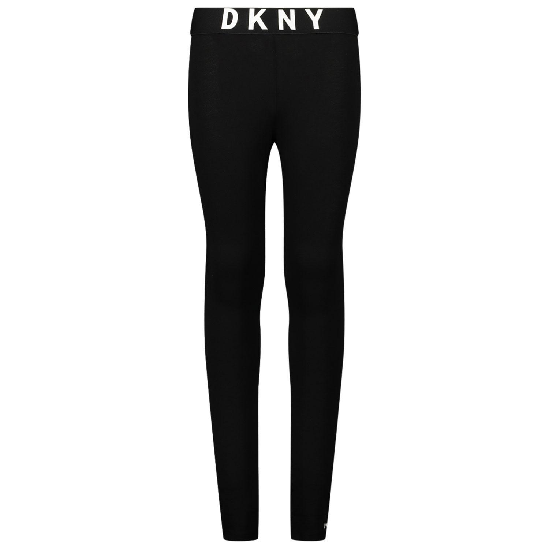 Afbeelding van DKNY D34A27 kinder legging zwart