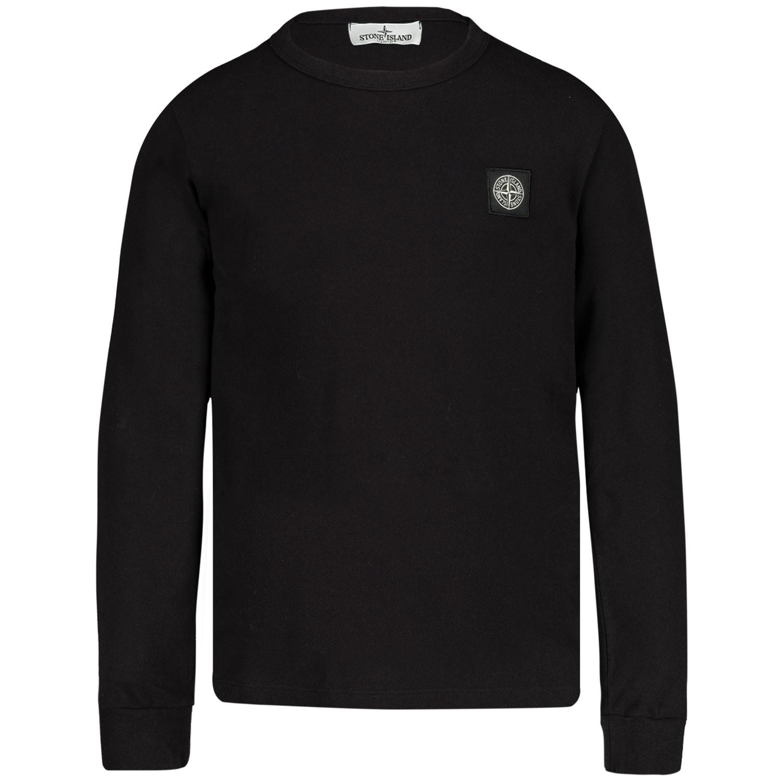 Afbeelding van Stone Island 711621448 kinder t-shirt zwart