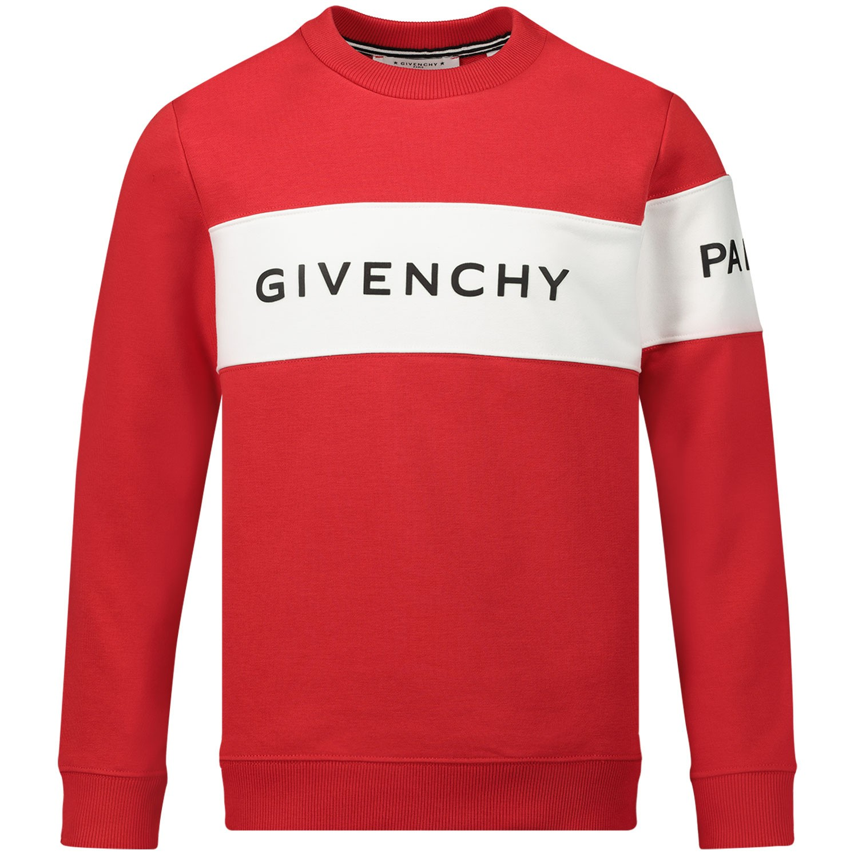 Afbeelding van Givenchy H25137 kindertrui rood