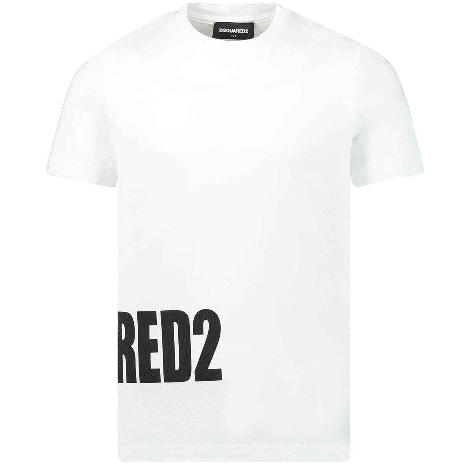 Afbeelding van Dsquared2 DQ03NY kinder t-shirt wit