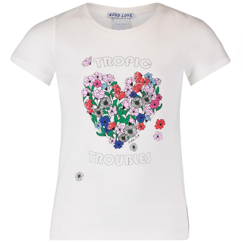 Afbeelding van NIK&NIK G8725 kinder t-shirt wit
