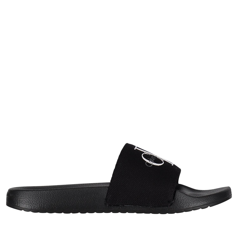 Afbeelding van Calvin Klein CHANTAL dames slippers zwart