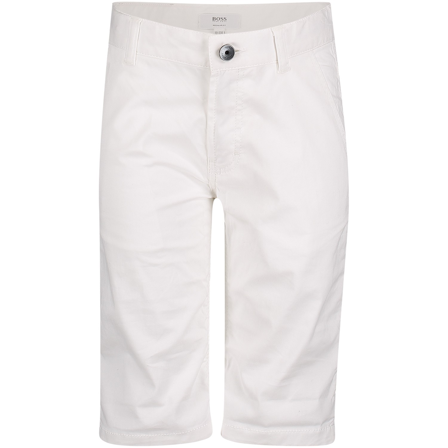 Picture of Boss J24598 kids shorts white
