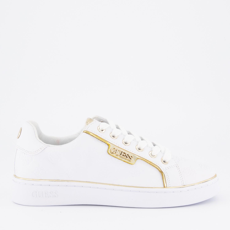 Afbeelding van Guess FL7BANELE12 dames sneakers wit
