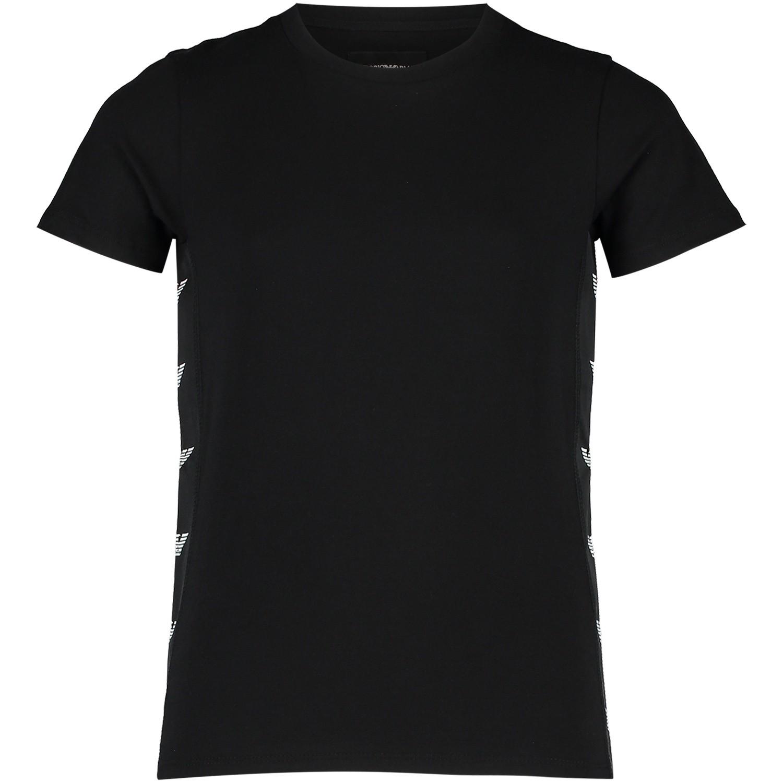Afbeelding van Armani 6Z4TE4 kinder t-shirt zwart