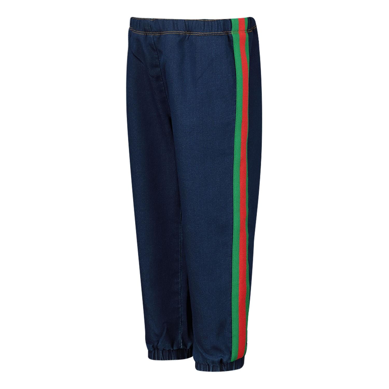 Afbeelding van Gucci 547187 babybroekje jeans