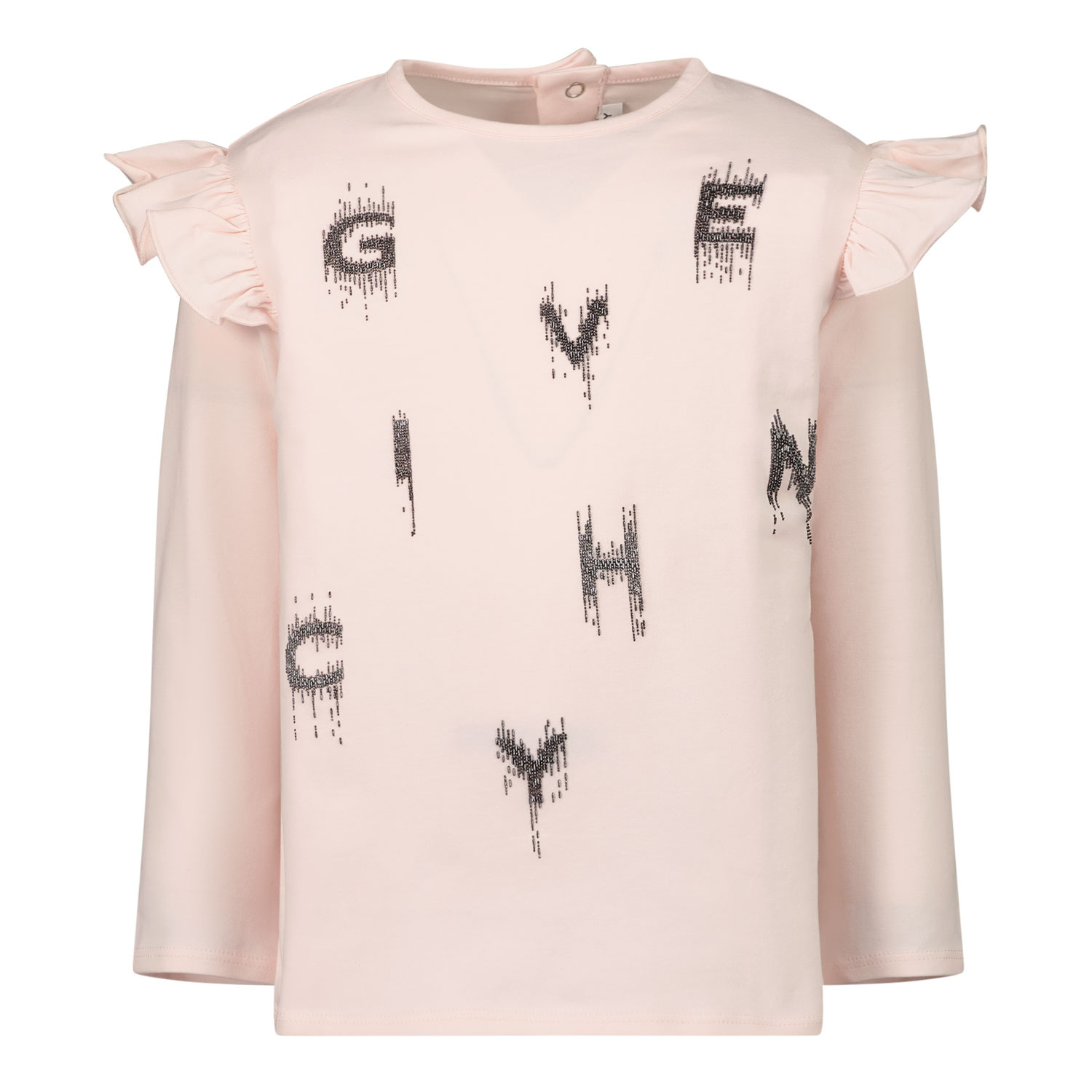 Afbeelding van Givenchy H05178 baby t-shirt licht roze