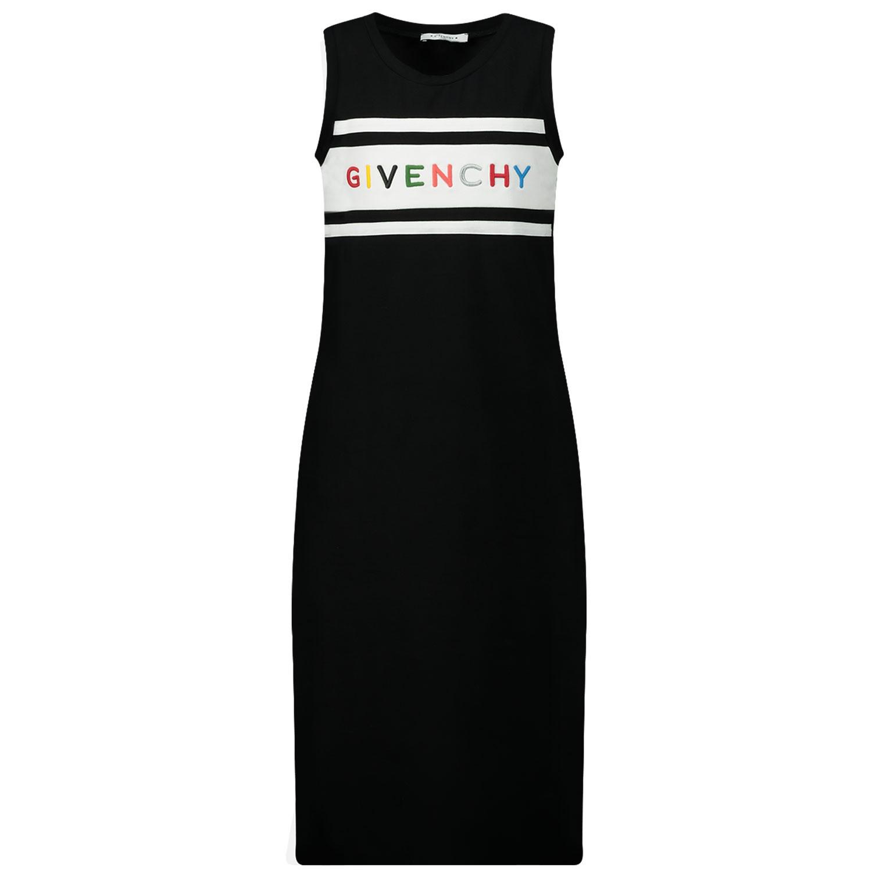 Afbeelding van Givenchy H12111 kinderjurk zwart