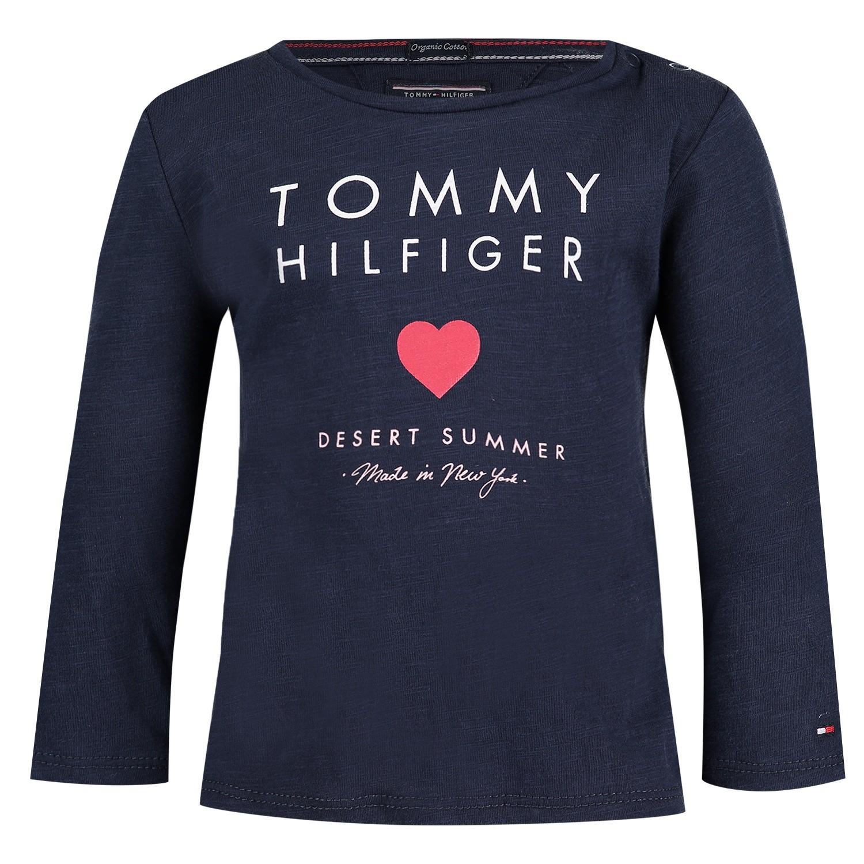Afbeelding van Tommy Hilfiger KG0KG03636 B baby t-shirt navy