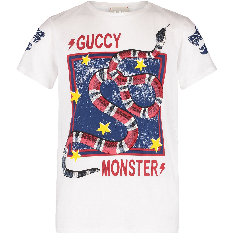Afbeelding van Gucci 520761 kinder t-shirt wit