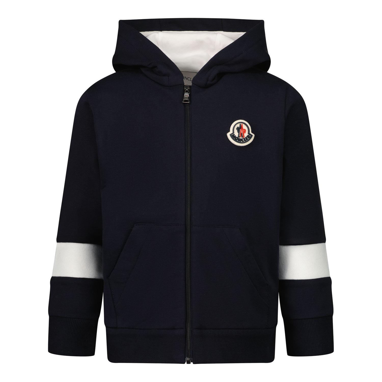Afbeelding van Moncler 8G71720 baby vest navy