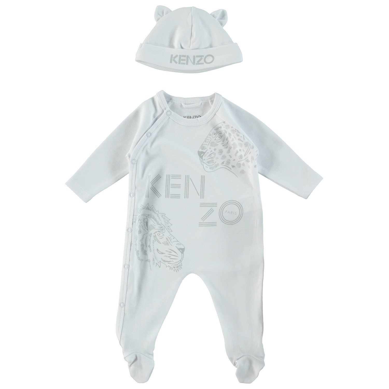 Afbeelding van Kenzo KM99003 babysetje wit