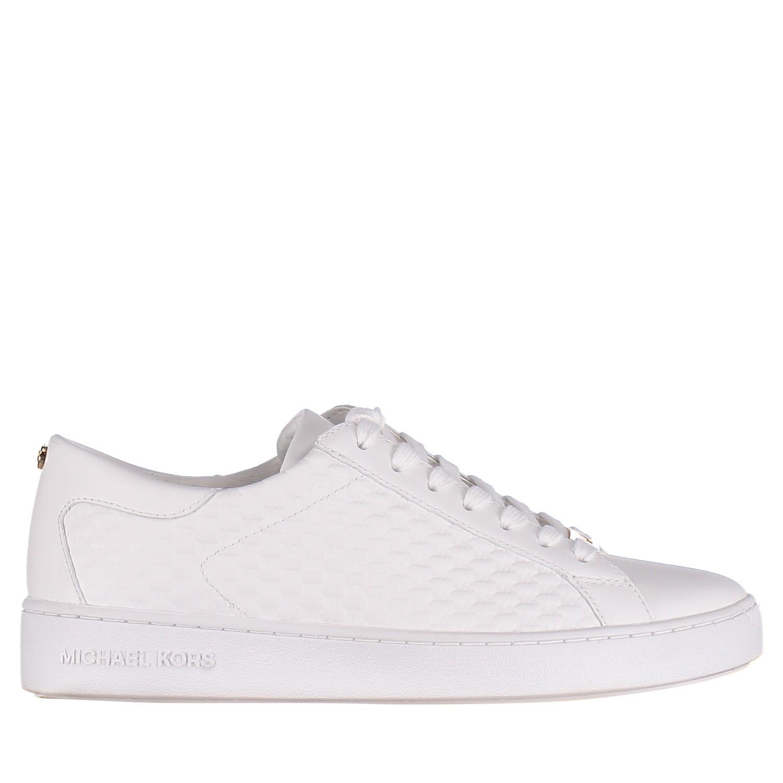 4d70fabdc06 Afbeelding van Michael Kors 43R5COFP2L dames sneakers wit