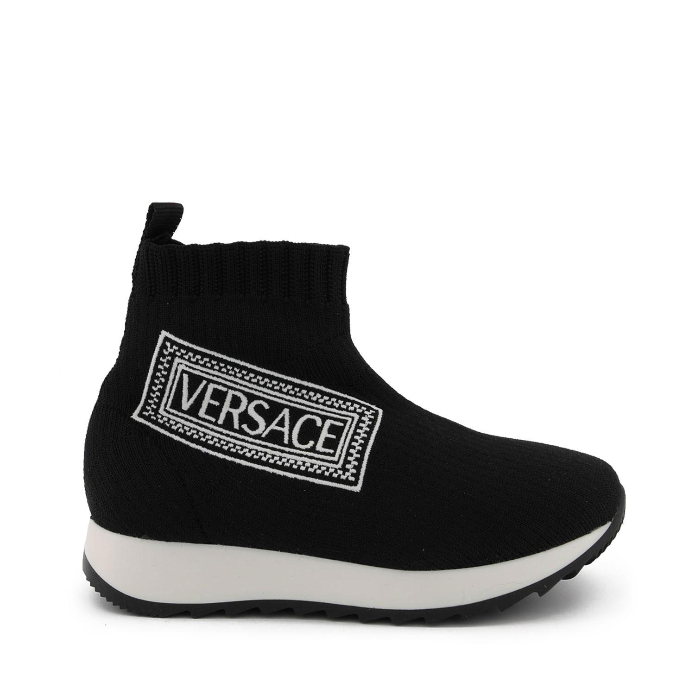 Afbeelding van Versace YHF00007 kindersneakers zwart