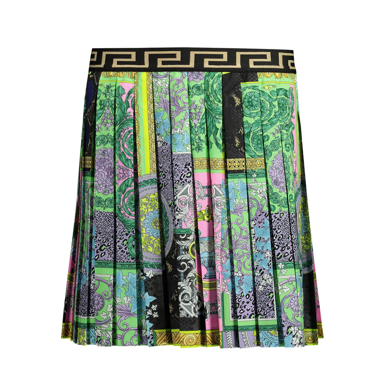 Afbeelding van Versace 1000240 1A00297 kinderrokje turquoise