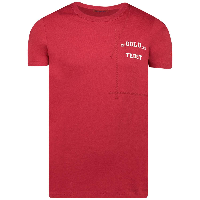 Afbeelding van In Gold We Trust THE ROOTS JR kinder t-shirt rood